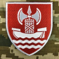 Нарукавний знак Південне територіальне управління ВСП кольоровий