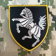 Купить Нарукавний знак 1 окрема танкова Сіверська бригада (чорний) в интернет-магазине Каптерка в Киеве и Украине