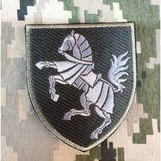 Нарукавний знак 1 окрема танкова Сіверська бригада (олива)