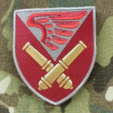 Купить Нарукавний знак 148 окремий гаубичний самохідний артилерійський дивізіон ДШВ (кольоровий) Акція в интернет-магазине Каптерка в Киеве и Украине