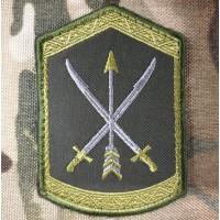 Нарукавний знак 197 Центр підготовки сержантського складу ЗСУ