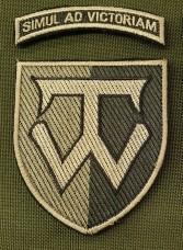 Нарукавний знак 58 ОМПБр ім. гетьмана Івана Виговського Олива (з дужкою)