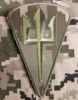 Нарукавний знак Морська піхота України пиксель ММ14