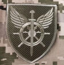 Купить Нарукавний знак Служба військових сполучень ЗСУ Польовий в интернет-магазине Каптерка в Киеве и Украине