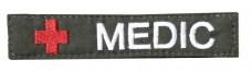 Нашивка MEDIC олива
