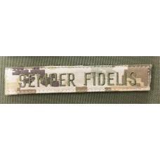 Нашивка SEMPER FIDELIS піксель