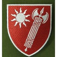 Нарукавний знак Східне територіальне управління ВСП кольоровий
