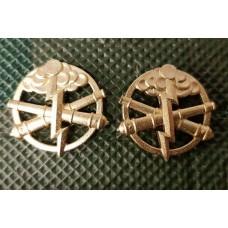 Емблема на комірець Артилерія Ракетні війська