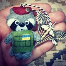 Купить М'яка іграшка Єнот в интернет-магазине Каптерка в Киеве и Украине