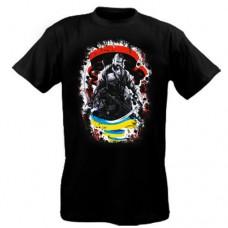 Купить Футболка За Незалежність! (Чорна) в интернет-магазине Каптерка в Киеве и Украине