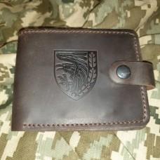 Шкіряний гаманець 93 ОМБр Холодний Яр