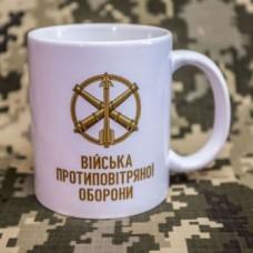 Купить Керамічна чашка Війська протиповітряної оборони ТМ Армія в интернет-магазине Каптерка в Киеве и Украине