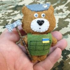Купить М'яка іграшка Гірський Місько з барткою в интернет-магазине Каптерка в Киеве и Украине