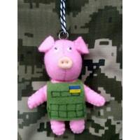 М'яка іграшка Бойова Свинка