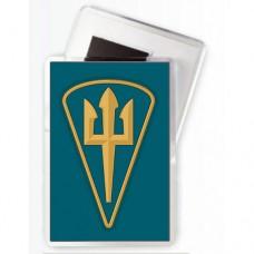 Магнітик Морської піхоти України (новий нарукавний знак)