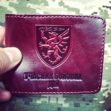 Обкладинка УБД 80 ОДШБр ДШВ (maroon лакова)