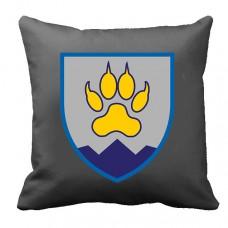Купить Декоративна подушка 15 ОГШБ (сіра) в интернет-магазине Каптерка в Киеве и Украине