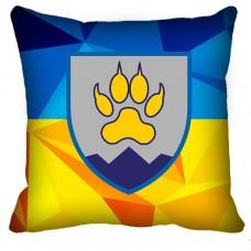 Купить Декоративна подушка 15-го окремого гірсько-штурмового батальйону в интернет-магазине Каптерка в Киеве и Украине