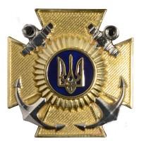 Знак на кашкет для Військово-Морських Сил