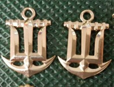 Купить Емблема на комірець ВМСУ в интернет-магазине Каптерка в Киеве и Украине