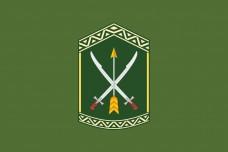 Прапор 197 Центр підготовки сержантського складу ЗСУ (олива)
