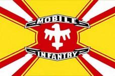 Прапор Mobile Infantry з кф Зоряний десант Starship Troopers