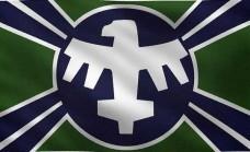 Прапор з кф Зоряний десант Starship Troopers