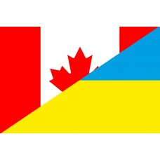 Прапор Україна Канада