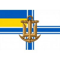 Прапор ВМСУ зі знаком