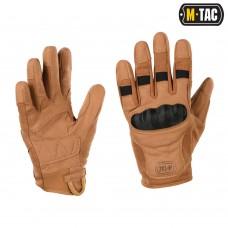 Тактичні рукавички з захистом M-TAC ASSAULT TACTICAL MK.6 COYOTE