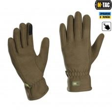 Зимові рукавиці M-Tac Winter DARK OLIVE з Touchscreen