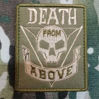 Патч Death From Above з кф Зоряний десант Starship Troopers (койот)