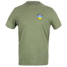 Футболка 5.11 Tactical Shield Ukraine Лімітована Серія, Military Green