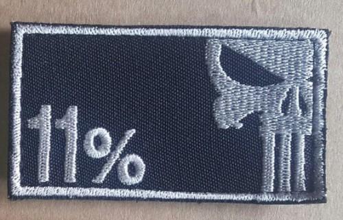 11% шеврон купить Череп Punisher вышивка Украина Киев 7bbb0d69b8547