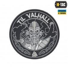 Резиновый шеврон TIL VALHALL black