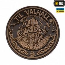 Резиновый шеврон TIL VALHALL койот
