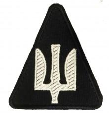 Шеврон Авіація ПС ЗСУ Нового зразка (чорний)