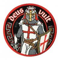 Шеврон Deus Vult