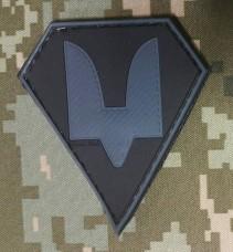 Купить PVC патч Сили Спеціальних Операцій (сірий) в интернет-магазине Каптерка в Киеве и Украине