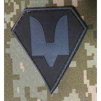 PVC патч Сили Спеціальних Операцій (сірий)