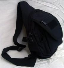 Рюкзак (малый) тактический однолямочный Silver Knight BLACK