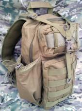 Рюкзак однолямочный 20 л. Silver Knight COYOTE
