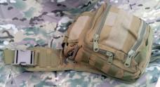 Тактическая сумка, наплечная (большая) Silver Knight COYOTE