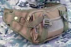 Тактическая сумка, поясная с отделом для пситолета Silver Knight COYOTE