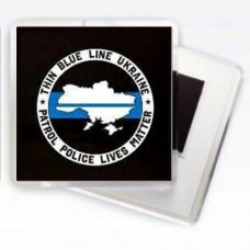 Thin Blue Line Ukraine Магнитик