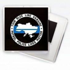 МагнітикThin Blue Line Ukraine