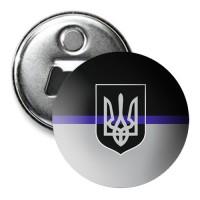 Thin Blue Line Ukraine Магнитик с открывашкой