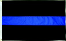 Флаг Thin Blue Line Ukraine