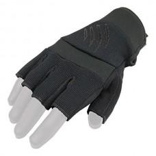 Купить Перчатки безпалые Kevlar Nomex Armored Claw черные  в интернет-магазине Каптерка в Киеве и Украине