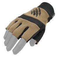 Перчатки безпалые Kevlar Nomex Armored Claw TAN